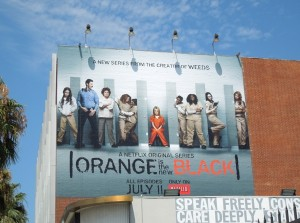 orange is new black netflix billboard