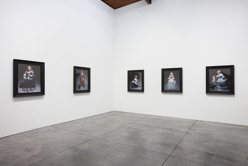 "Yasumasa Morimura's series ""Las Meninas Renacen de Noche"" via Luhring Augustine."