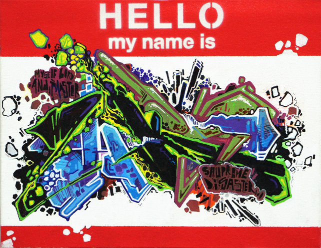 My Name Is Name: HELLO, My Name Is Graffiti Show