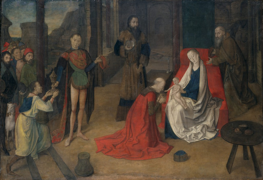 Justus of Ghent: The Adoration of the Magi (Netherlandish, active by 1460–died ca. 1480). The Metropolitan Museum of Art.
