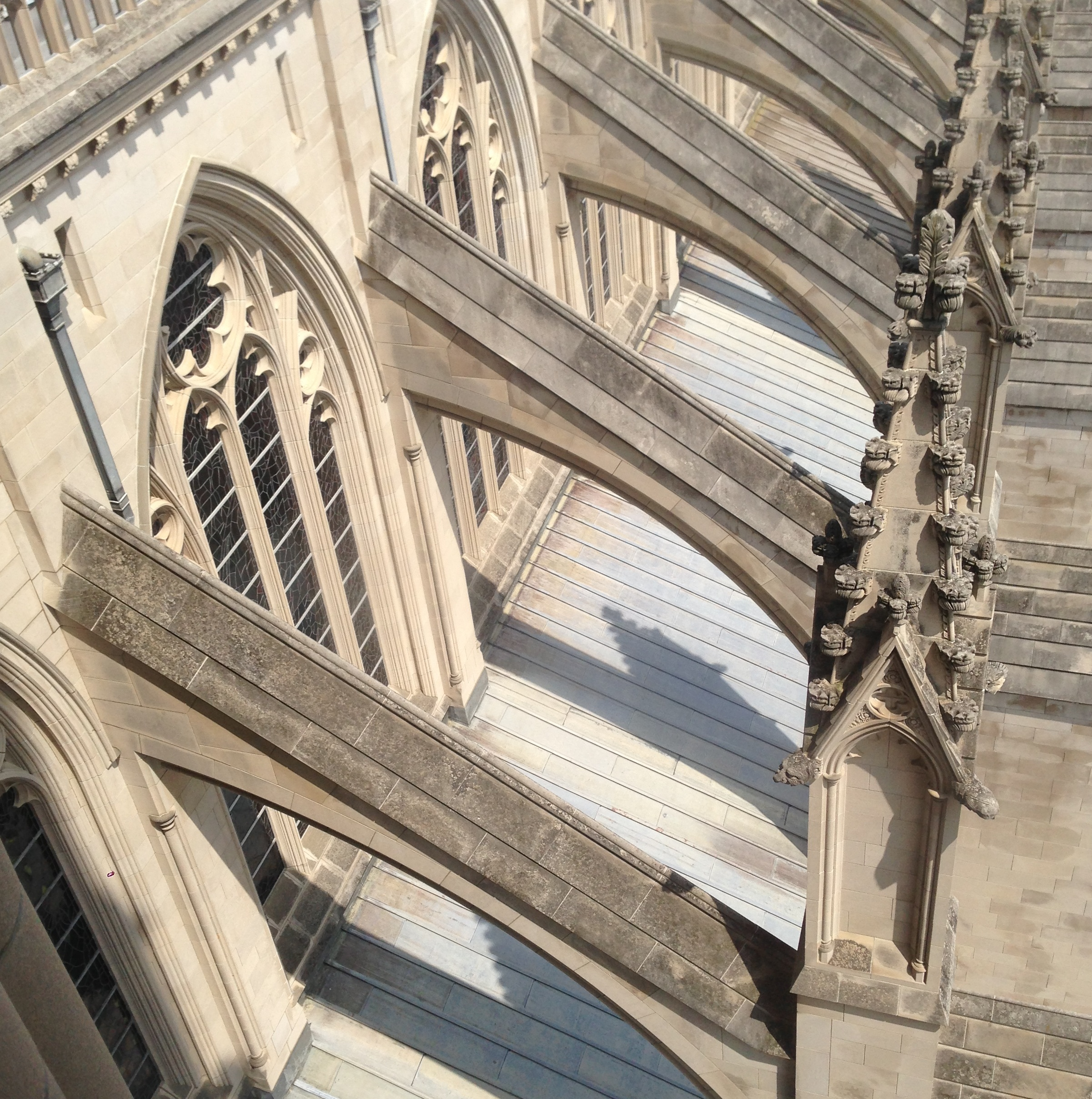 flying buttress  ancient to medieval art - flying buttress