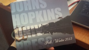 Johns Hopkins 2015 Catalog