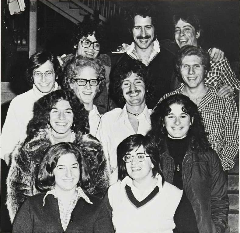 Members of the Jewish student association, 1975
