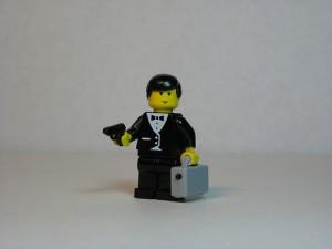 James Bond Lego by Dunechaser