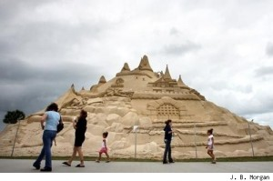 Sand Castle by JP Morgan