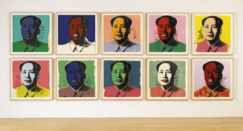 Andy Warhol MAO (F. & S. II.90-99) From thesothebys.com