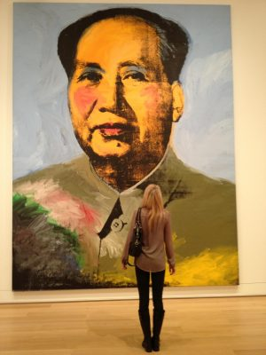 First Generation American, Andy Warhol, at The Art Institute of Chicago's Modern Wing.