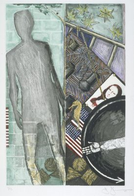 The Seasons (Summer) 1987 Jasper Johns born 1930 Presented by the American Fund for the Tate Gallery, courtesy of Judy and Kenneth Dayton 2004 http://www.tate.org.uk/art/work/P12998