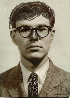 Andy Warhol: Self-Portrait (Passport Photograph with Altered Nose), 1956© The Andy Warhol Foundation for the Visual Arts, Inc.