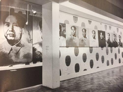 """Mao,"" Musee Falliera, Paris, Feb 23-march 18, 1974, Bourbon 95."