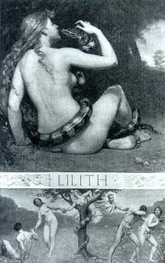 Lilith, Kenyon Cox (ca. 1892)