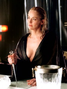 Image result for basic instinct sharon stone ice pick