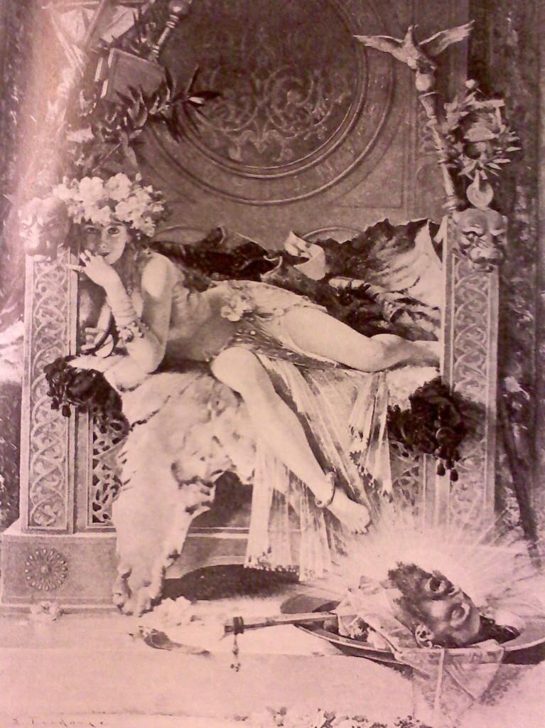 Salome Triumphant by Edouard Toudouze (1886)