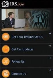 IRS app - IRS2Go