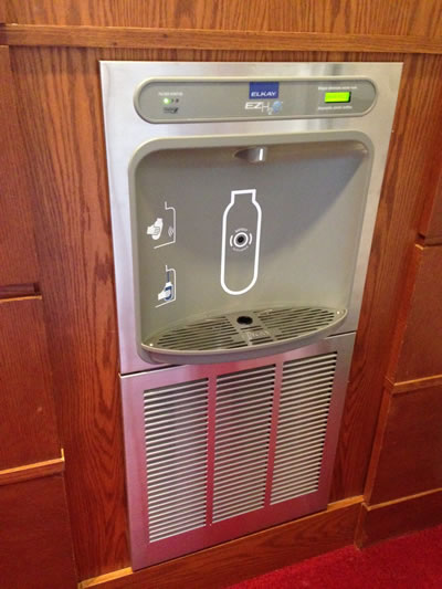 New Water Bottle Filling Station In Williams Reduces Waste