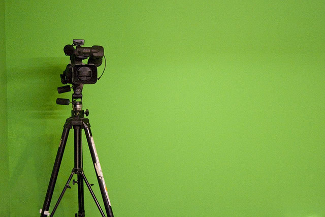"""Green Screen"" by Sam Greenhalgh - Creative Commons License"