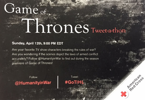 Game of Thrones Tweet-a-thon