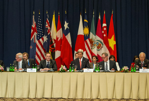 Kerry at TTP Meeting in Bali
