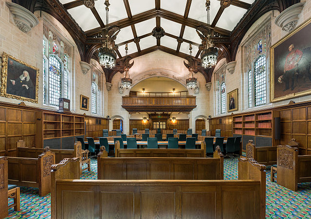 UK Supreme Court in the former Middlesex County Guildhall. Photo by David Iliff via Wikimedia Commons. CC-By-SA 3.0 Unported License