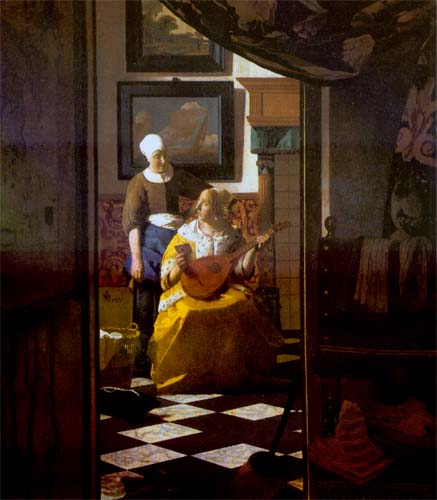 the love letter vermeer painters and hypermediacy methods of literary and 25206