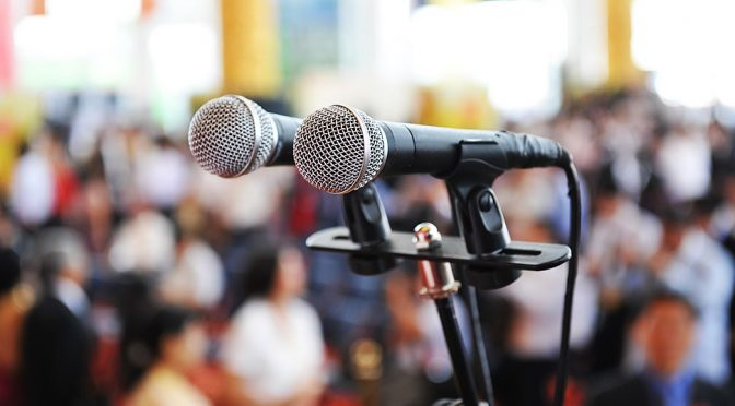Three Things I've Learned About Public Speaking
