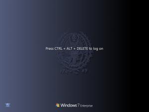 windows 7 enterprise login screen
