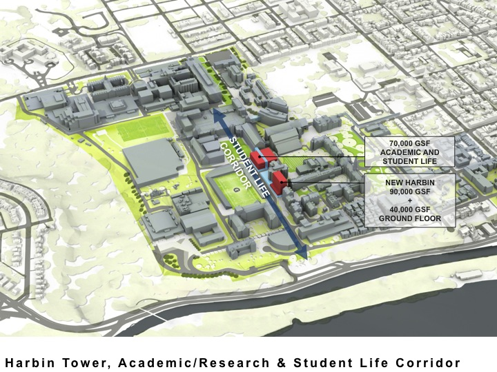 Student Life Corridor