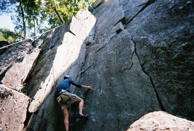 Gopop West Virginia Rock Climbing