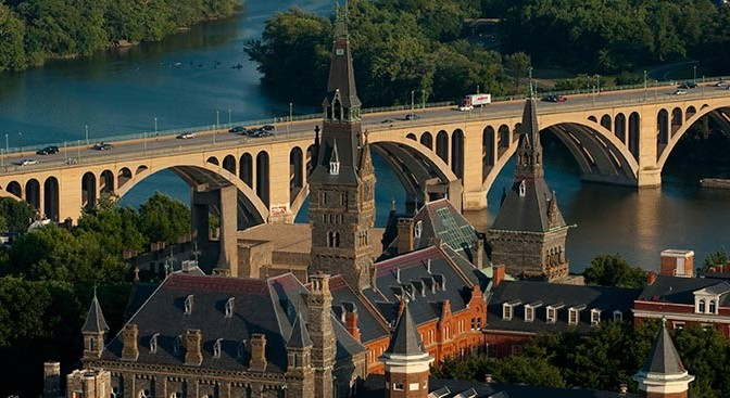 Source: Georgetown University Admissions