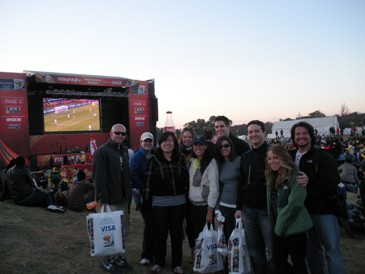 SIM at the FIFA Fan Fest in Sandton