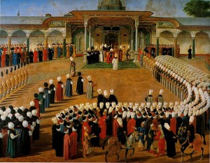 Reception at the Court of Selim III Topkapi Palace
