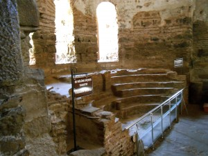 Nave of St. Sophia church, Nicea Turkey, where a few folks sat and decided Christian theology for the rest of us.