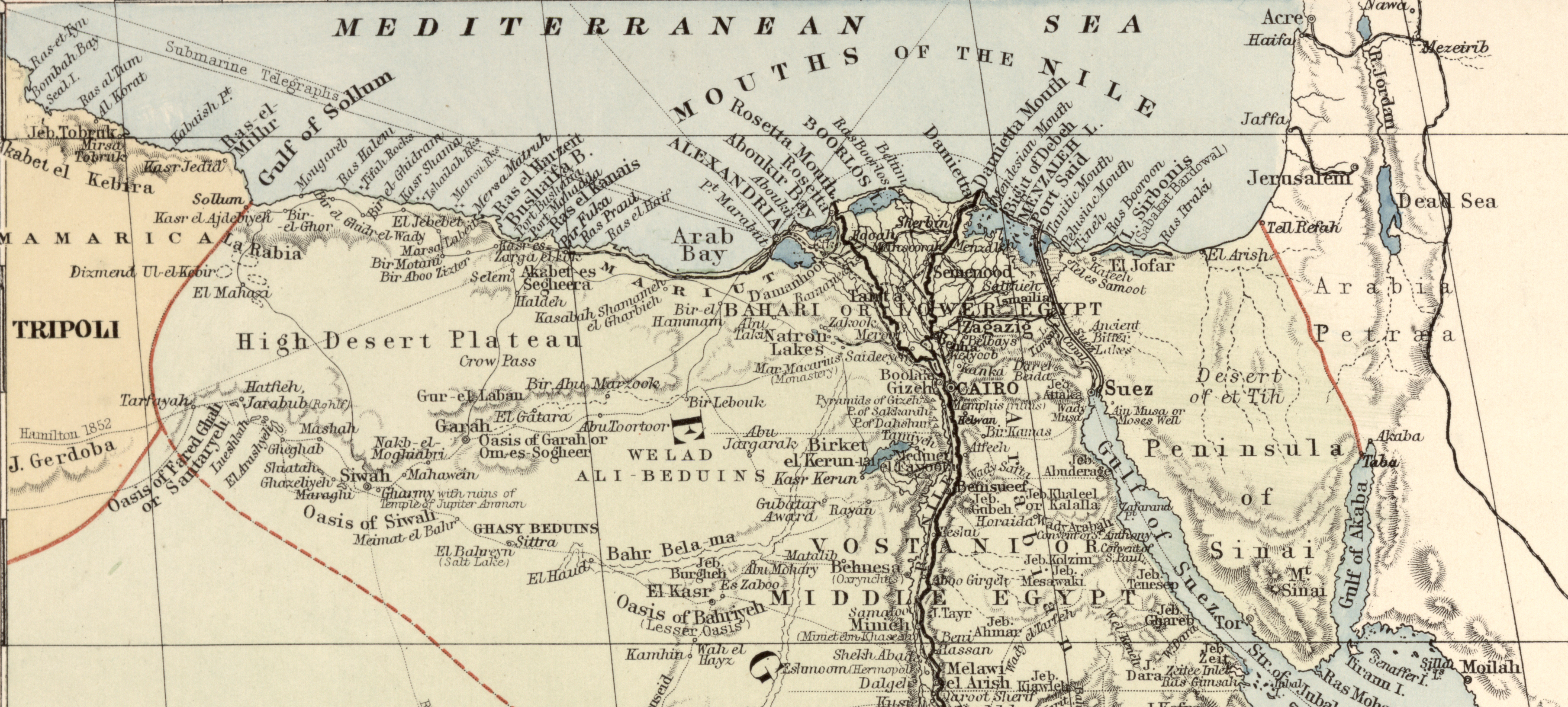 London Atlas Map of the Nile Valley. London: E. Stanford [ca 1910]. Library of Congress Geography and Map Division.